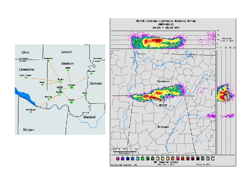 North Alabama Lightning Mapping Array (NASA) Map (10 stations) http: //branch. nsstc. nasa. gov/