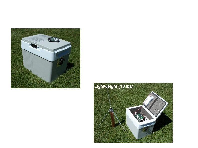 Portable LMA System (Vortex II, DC Network, DC 3? ) • Electronics housed in