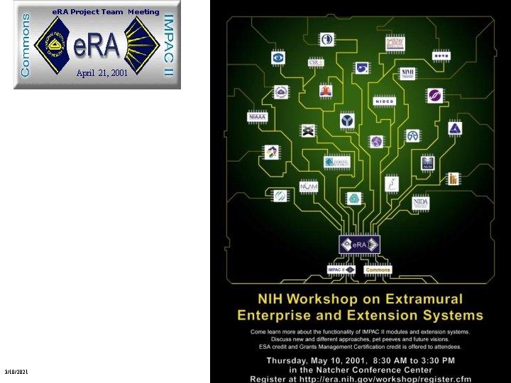 e. RA Project Team Meeting April 21, 2001 1 3/10/2021