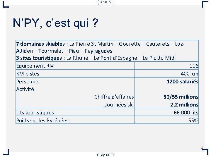 N'PY, c'est qui ? 7 domaines skiables : La Pierre St Martin – Gourette
