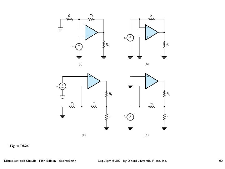 Figure P 8. 26 Microelectronic Circuits - Fifth Edition Sedra/Smith Copyright 2004 by Oxford