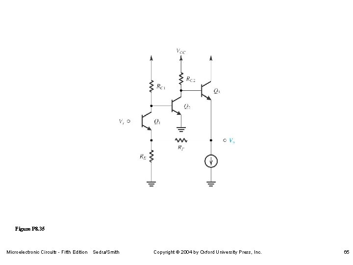 Figure P 8. 35 Microelectronic Circuits - Fifth Edition Sedra/Smith Copyright 2004 by Oxford