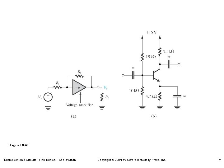 Figure P 8. 46 Microelectronic Circuits - Fifth Edition Sedra/Smith Copyright 2004 by Oxford