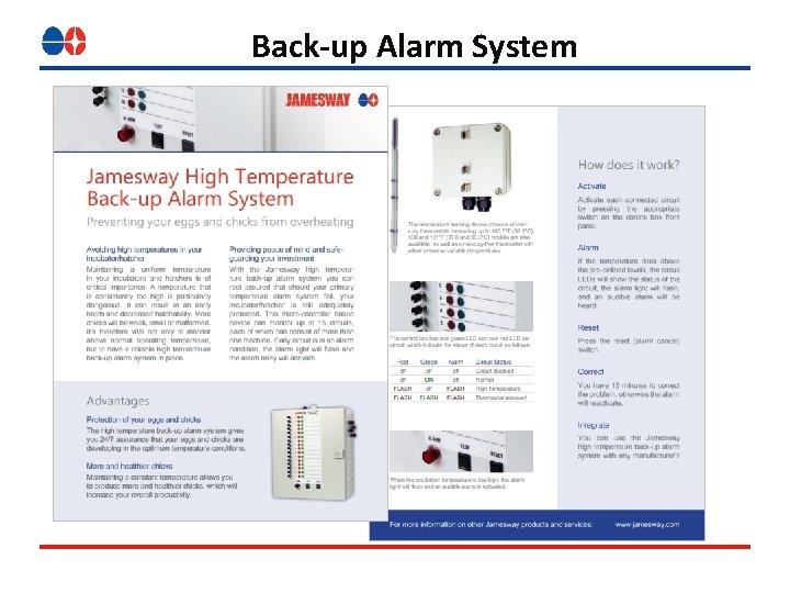 Back-up Alarm System