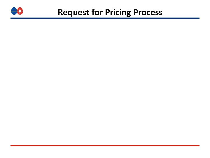 Request for Pricing Process