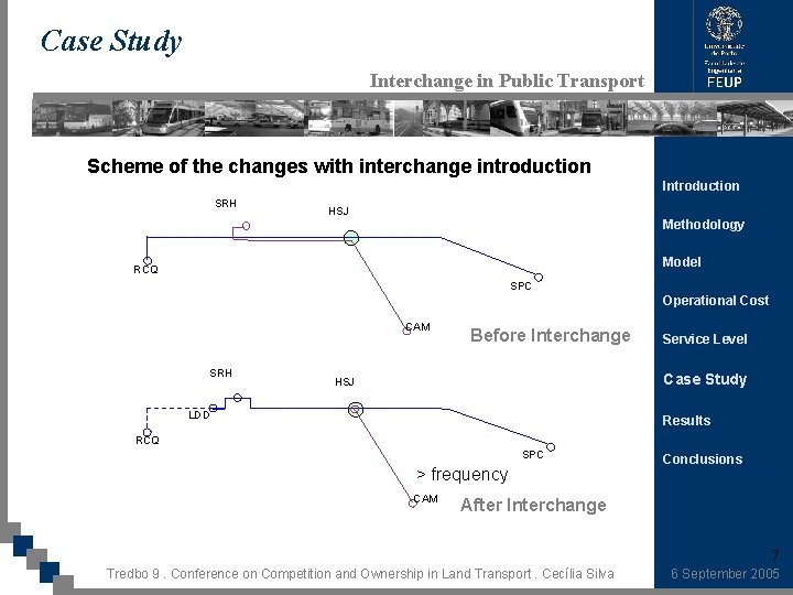 Case Study Interchange in Public Transport Scheme of the changes with interchange introduction Introduction