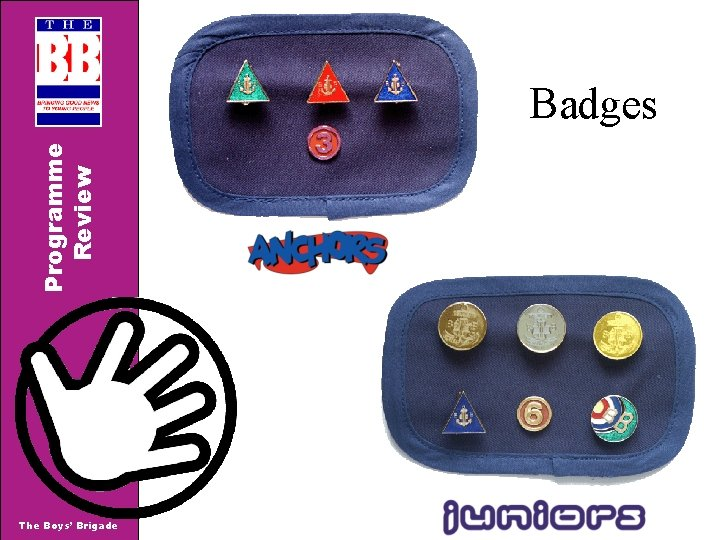 Programme Review Badges The Boys' Brigade