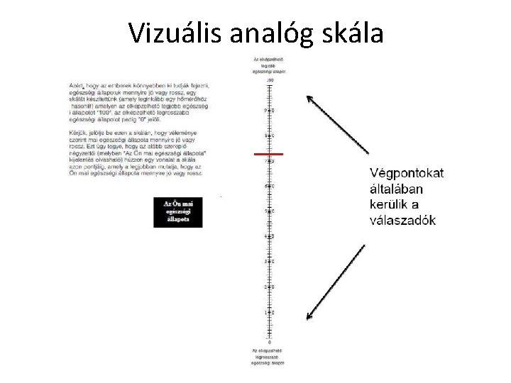 vizuális index skála