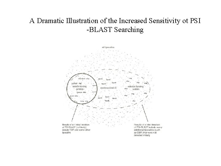 A Dramatic Illustration of the Increased Sensitivity ot PSI -BLAST Searching