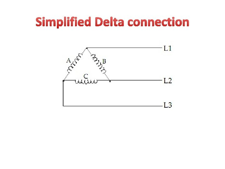 Simplified Delta connection