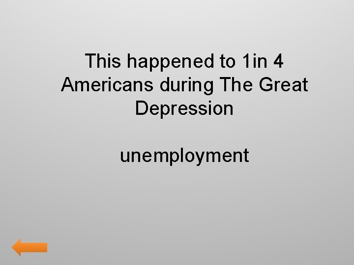 This happened to 1 in 4 Americans during The Great Depression unemployment