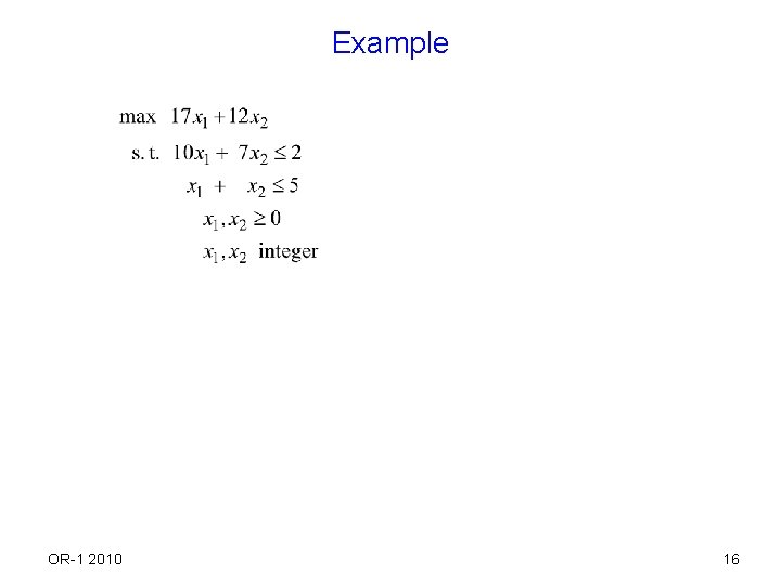 Example OR-1 2010 16
