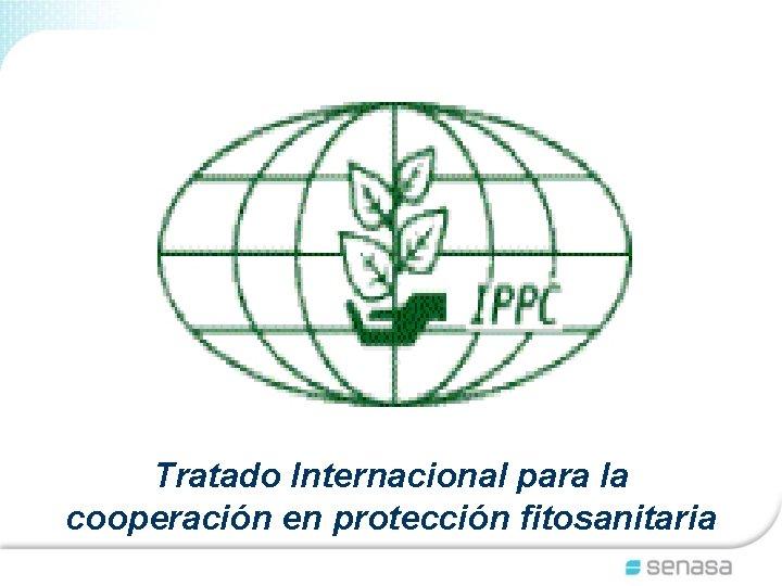 Tratado Internacional para la cooperación en protección fitosanitaria