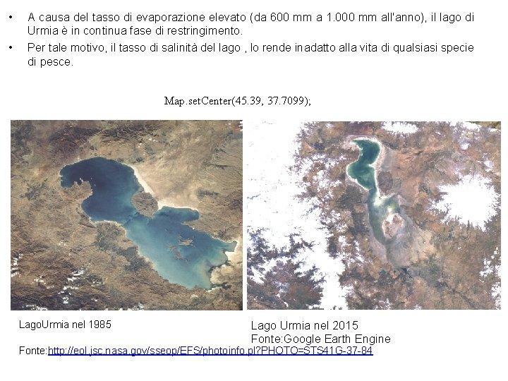 • • A causa del tasso di evaporazione elevato (da 600 mm a