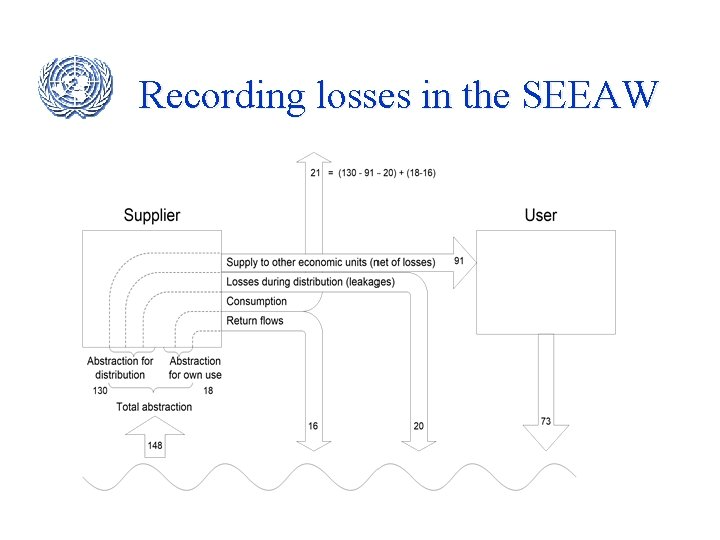 Recording losses in the SEEAW