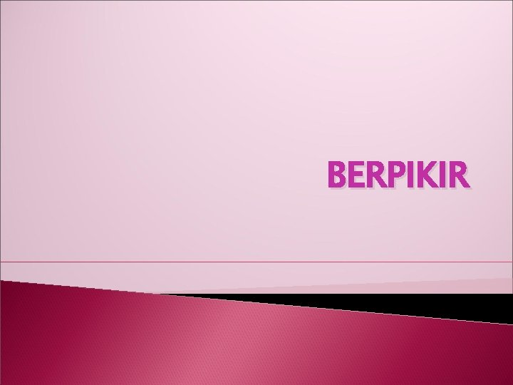 BERPIKIR