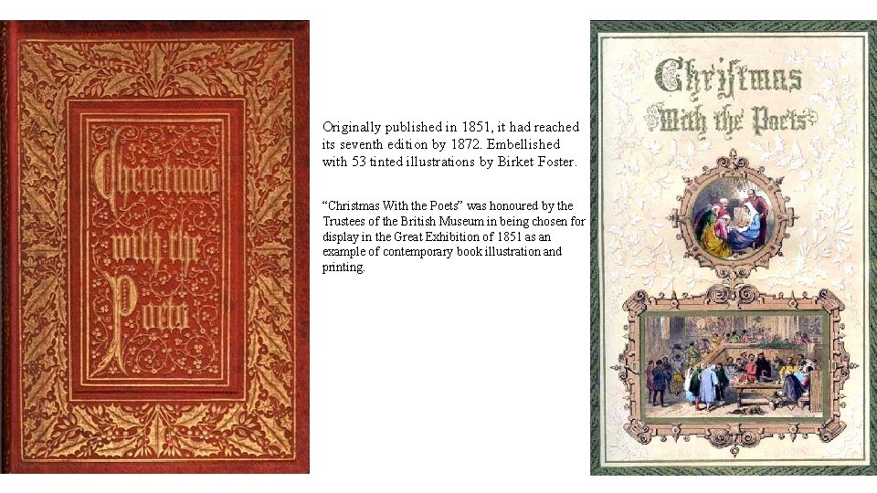 Originally published in 1851, it had reached its seventh edition by 1872. Embellished with