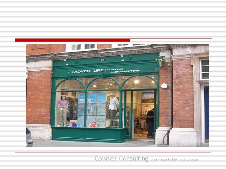 Cowden Consulting your route to business success