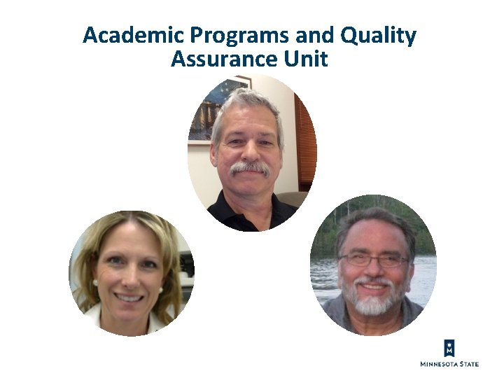 Academic Programs and Quality Assurance Unit