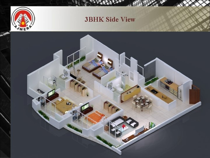 3 BHK Side View