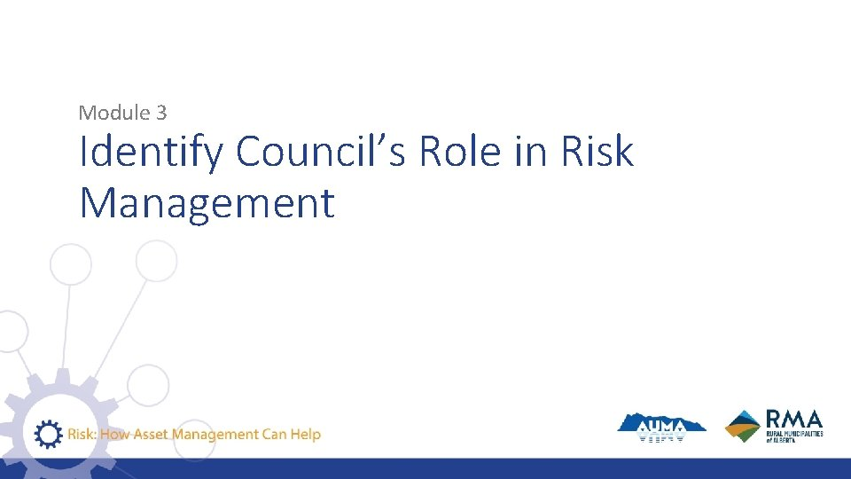 Module 3 Identify Council's Role in Risk Management