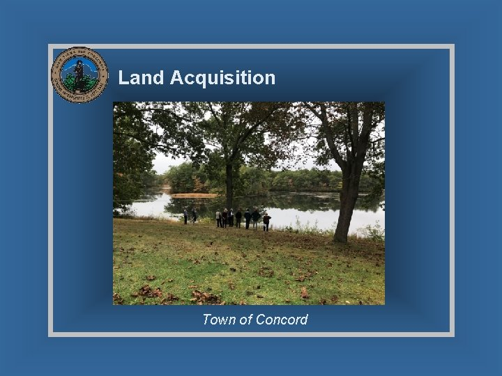 Land Acquisition Town of Concord
