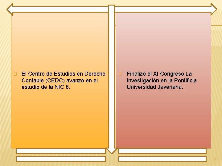 � El Centro de Estudios en Derecho Contable (CEDC) avanzó en el estudio de