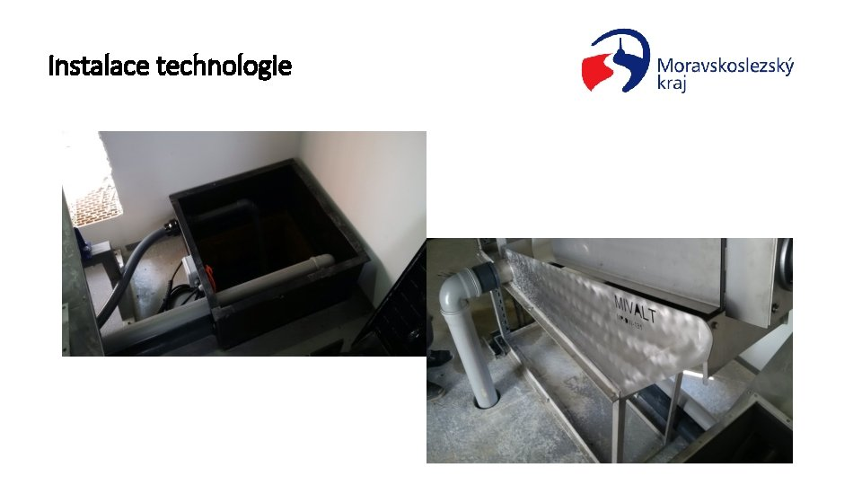 Instalace technologie