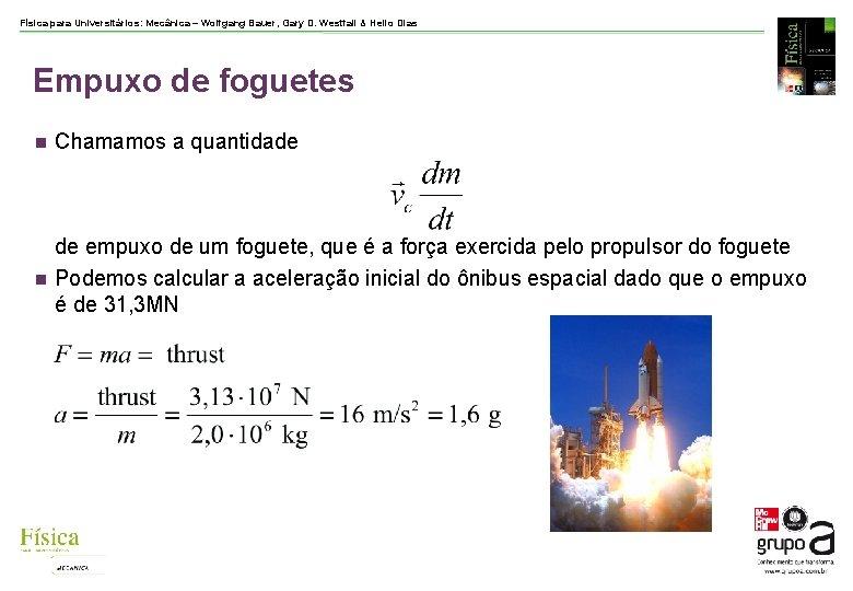 Física para Universitários: Mecânica – Wolfgang Bauer, Gary D. Westfall & Helio Dias Empuxo