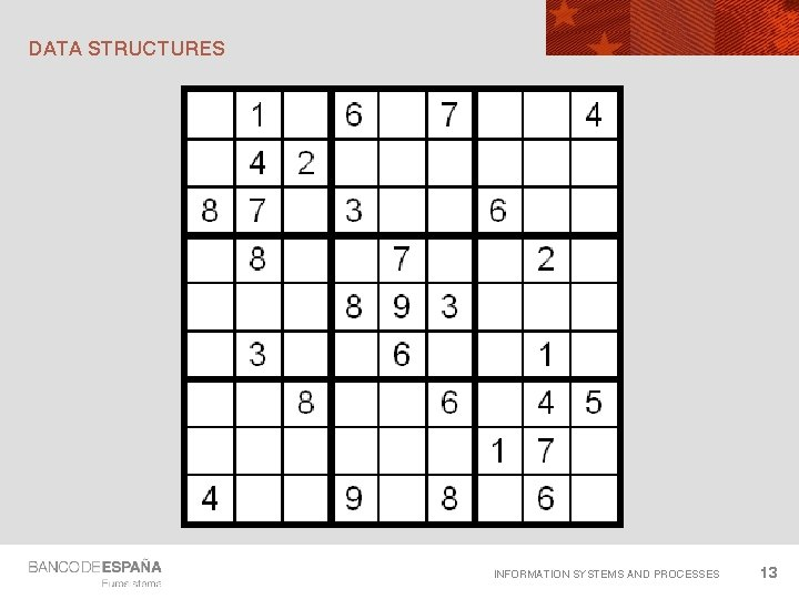 DATA STRUCTURES INFORMATION SYSTEMS AND PROCESSES 13