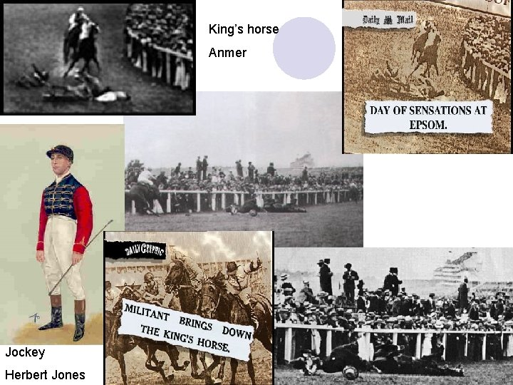 King's horse Anmer Jockey Herbert Jones J. Doyle 81