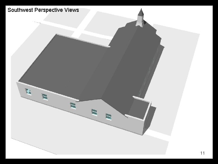 Southwest Perspective Views 11
