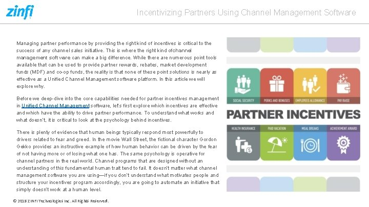 Incentivizing Partners Using Channel Management Software Managing partner performance by providing the right kind