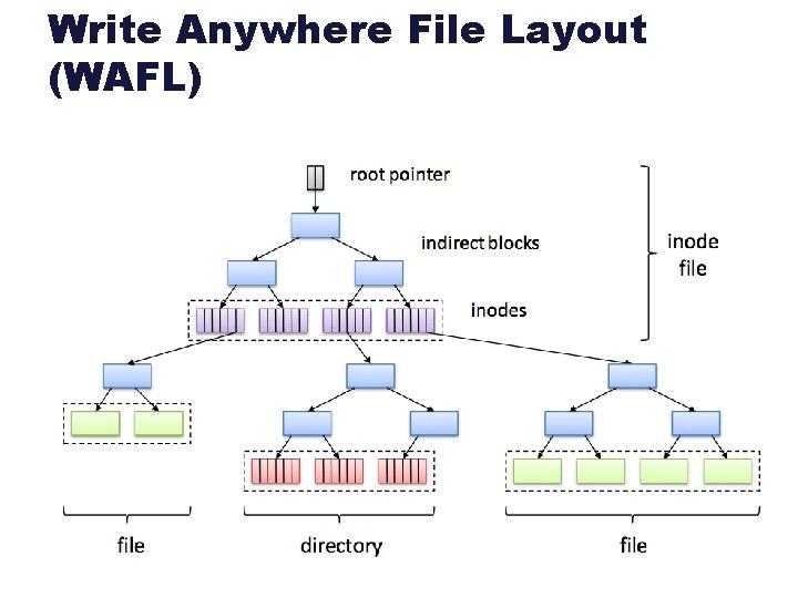 Write Anywhere File Layout (WAFL)
