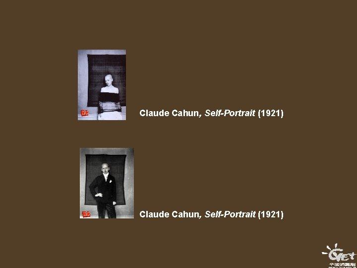 Claude Cahun, Self-Portrait (1921)