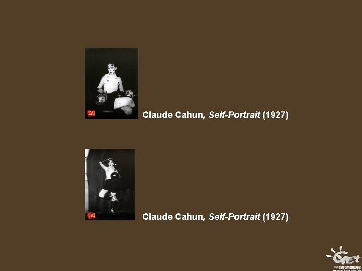 Claude Cahun, Self-Portrait (1927)