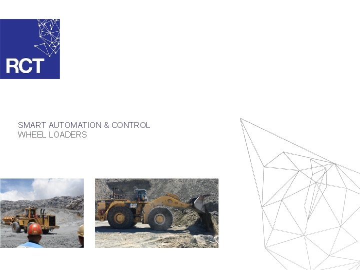 SMART AUTOMATION & CONTROL WHEEL LOADERS
