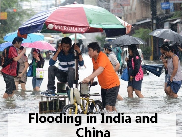 Flooding in India and
