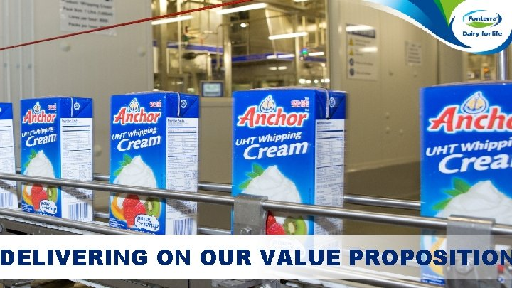 DELIVERING ON OUR VALUE PROPOSITION Confidential to Fonterra Co-operative Group - November 2015 Page
