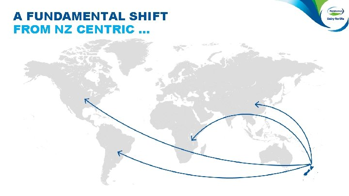 A FUNDAMENTAL SHIFT FROM NZ CENTRIC …