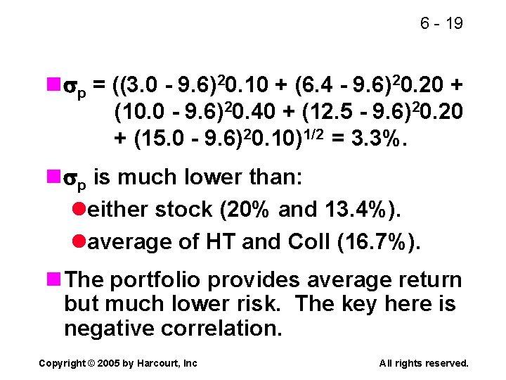 6 - 19 n p = ((3. 0 - 9. 6)20. 10 + (6.