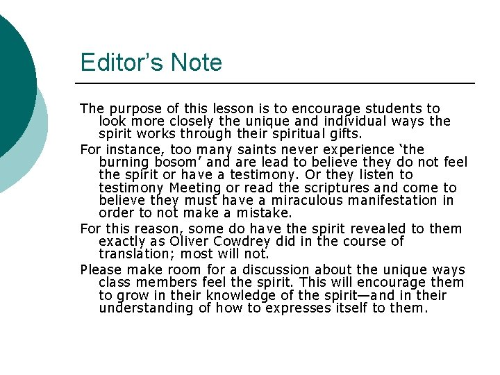 Editor's Note The purpose of this lesson is to encourage students to look more