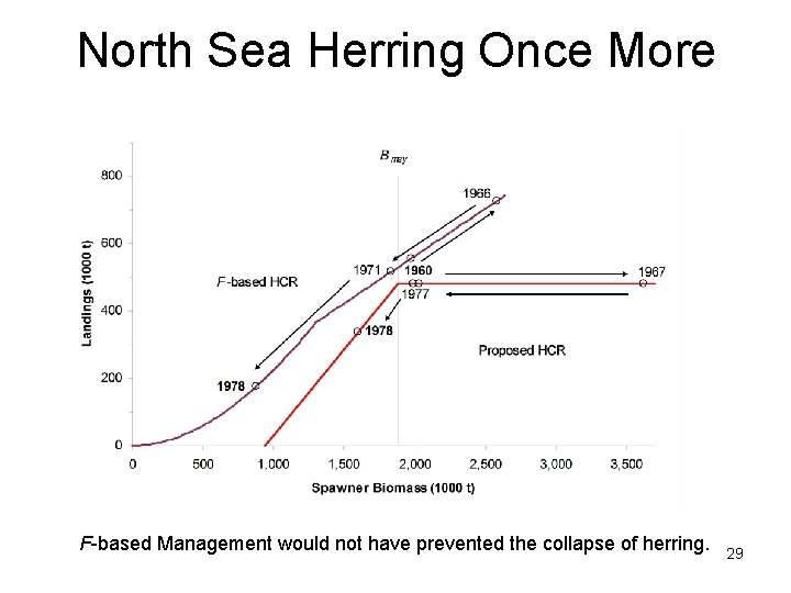 North Sea Herring Once More F-based Management would not have prevented the collapse of