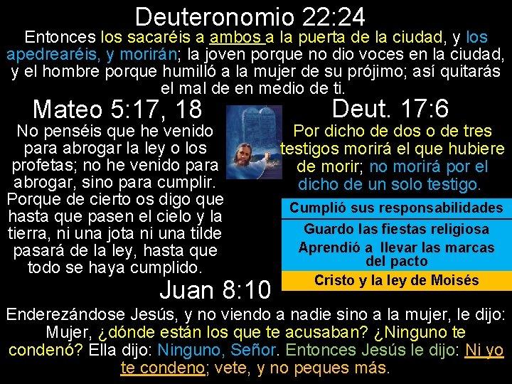 Deuteronomio 22: 24 Entonces los sacaréis a ambos a la puerta de la ciudad,