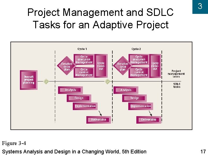 Project Management and SDLC Tasks for an Adaptive Project 3 Figure 3 -4 Systems