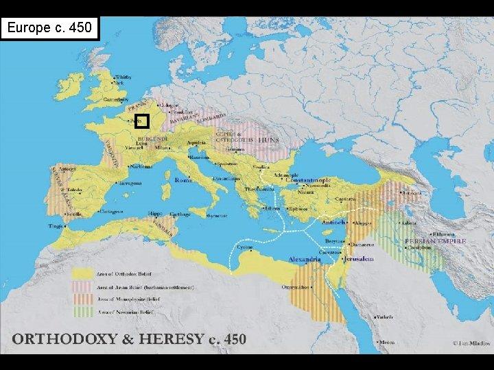 Europe c. 450