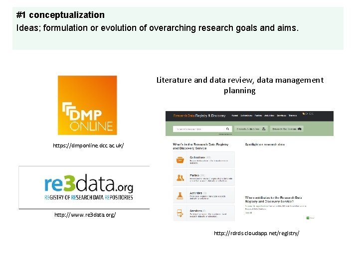 #1 conceptualization Ideas; formulation or evolution of overarching research goals and aims. Literature and