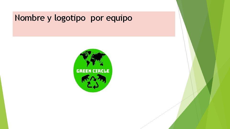 Nombre y logotipo por equipo