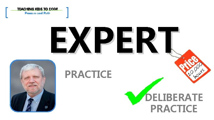 [ TEACHING KIDS TO CODE Process and Path ] EXPERT PRACTICE 0 0 ,