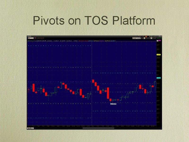 Pivots on TOS Platform